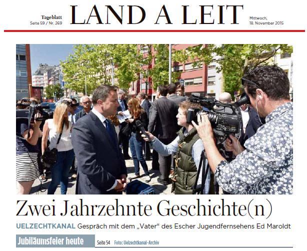 20 Joer UK Tageblatt