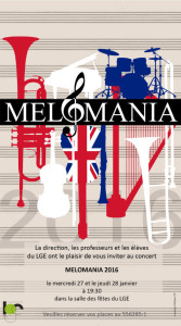Melomania invitation 2016