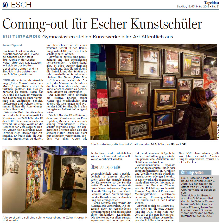 2016 Expo Extramuros ART