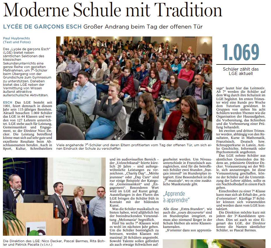 Tageblatt 25.04.2016 page 56