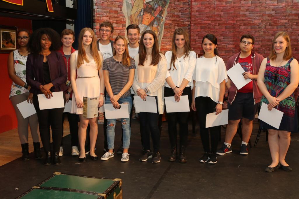élèves méritants 2016 lauréats de divers concours artistiques