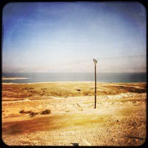 06 Busfahrt von der Oase En Gedi nach Jerusalem Totes Meer (2)